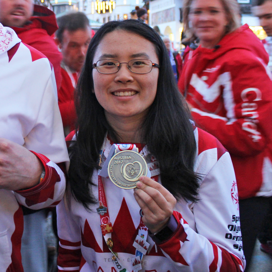 Susan Wang Special Olympics World Games gold medallist
